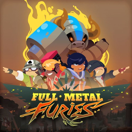 Full Metal Furies Cover